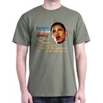 anti-Obama Fool the People Dark T-Shirt
