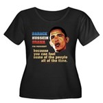 anti-Obama Fool the People Women's Plus Size Scoop