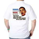 anti-Obama Fool the People Golf Shirt
