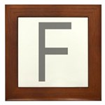 F Framed Tile