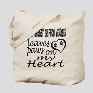 Petit Basset Griffon Vendeen Dog Leaves P Tote Bag