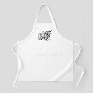 Angora Goat BBQ Apron