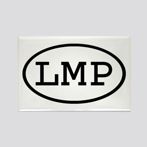 LMP Oval Rectangle Magnet