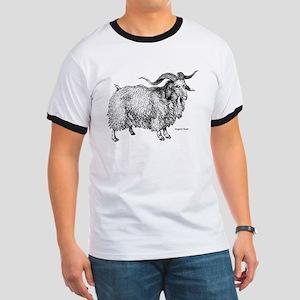 Angora Goat (Front) Ringer T