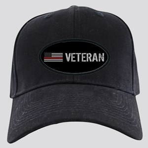 Firefighter: Veteran (Thin Re Black Cap with Patch