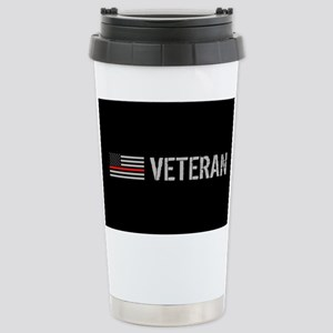 Firefighter: Veteran (T Stainless Steel Travel Mug