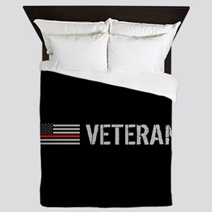 Firefighter: Veteran (Thin Red Line) Queen Duvet