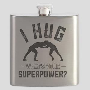 Wrestling How I Hug Flask