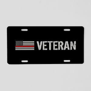 Firefighter: Veteran (Thin Aluminum License Plate