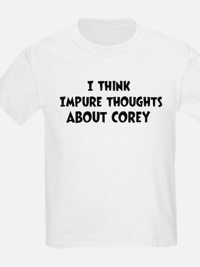 Corey (impure thoughts} T-Shirt