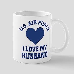 U.S. Air Force Wife Love Husband Mugs
