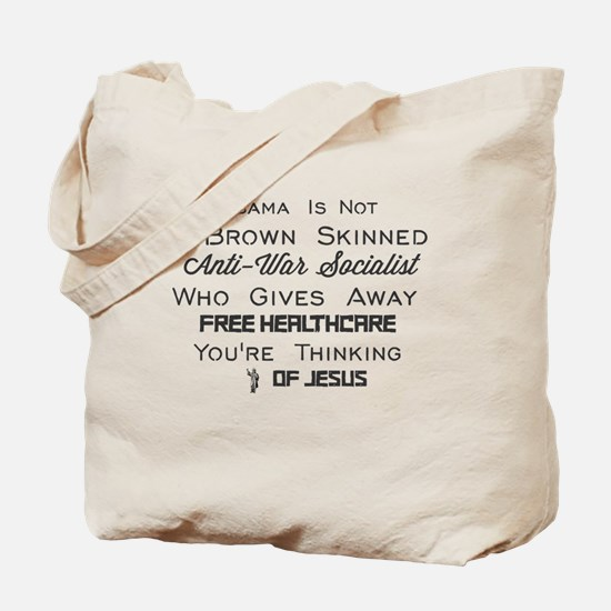 Cute Obama socialist Tote Bag