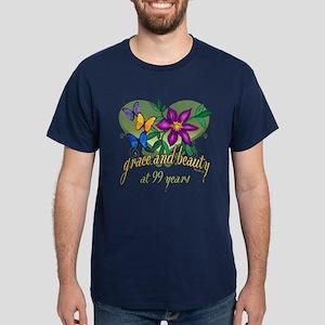 99th Birthday Grace Dark T-Shirt