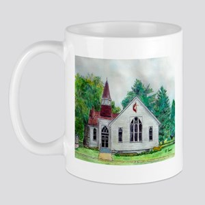 Clinton OH Methodist Church Mug