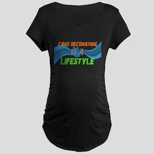 CAKE DECORATING2 Maternity T-Shirt
