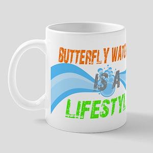 butterfly watching lifestyle Mug