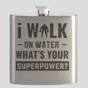 Hockey Player Gifts - Walk On Water Flask