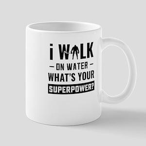 Hockey Player Gifts - Walk On Water Mugs