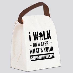 Hockey Player Gifts - Walk On Wat Canvas Lunch Bag