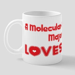 A Molecular Biology Major Loves Me Mug