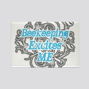 Bookkeeping excites me Rectangle Magnet