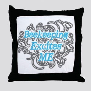 Bookkeeping excites me Throw Pillow