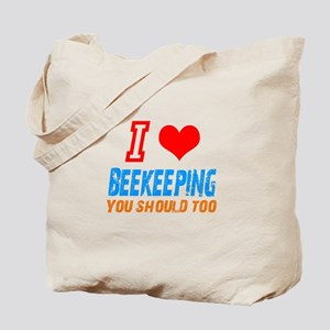 I love beekeeping Tote Bag