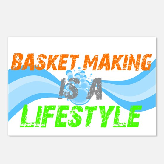 Basket making is a liefstyle Postcards (Package of
