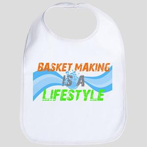 Basket making is a liefstyle Bib