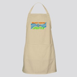 Basket making is a liefstyle BBQ Apron