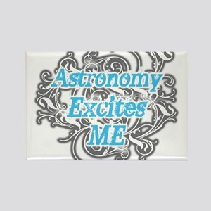 Astronomy Excites me Rectangle Magnet