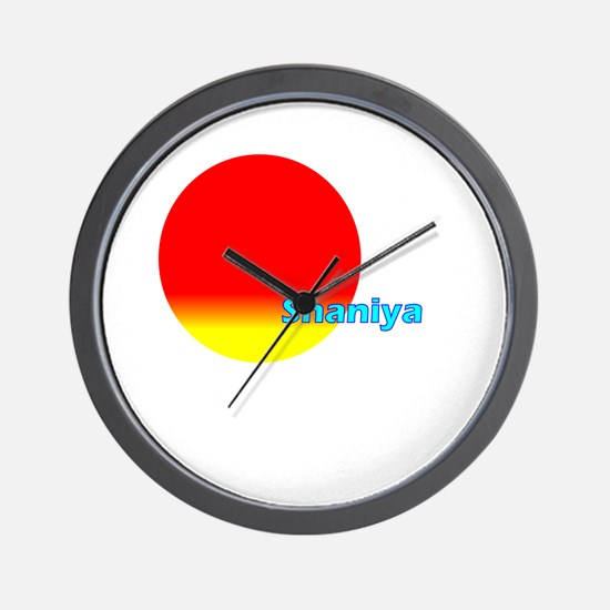 Shaniya Wall Clock