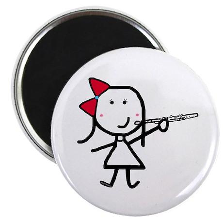 Girl & Flute Magnet
