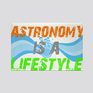 Astronomy is lifestyle Rectangle Magnet