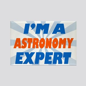 Astronomy expert Rectangle Magnet
