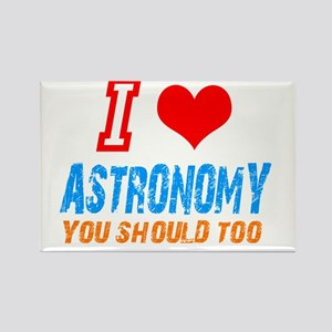 I love astronomy Rectangle Magnet