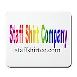 Staff Shirt Co Logo Mousepad