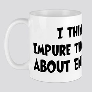 Enrique (impure thoughts} Mug