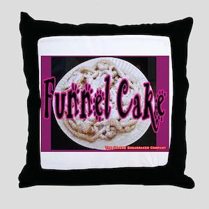 Funnel Cake Throw Pillow
