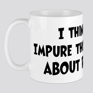 Roy (impure thoughts} Mug