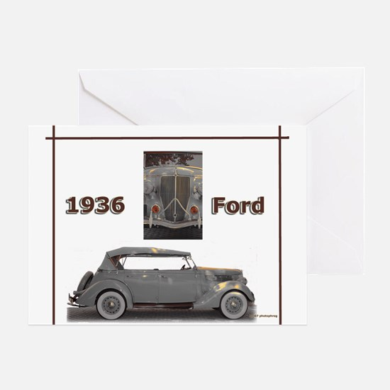 1936 Ford Elegance Greeting Card