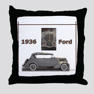 1936 Ford Elegance Throw Pillow