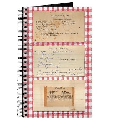 cookbook journal