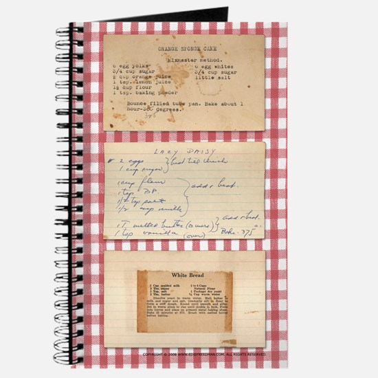 Recipe Medley Journal