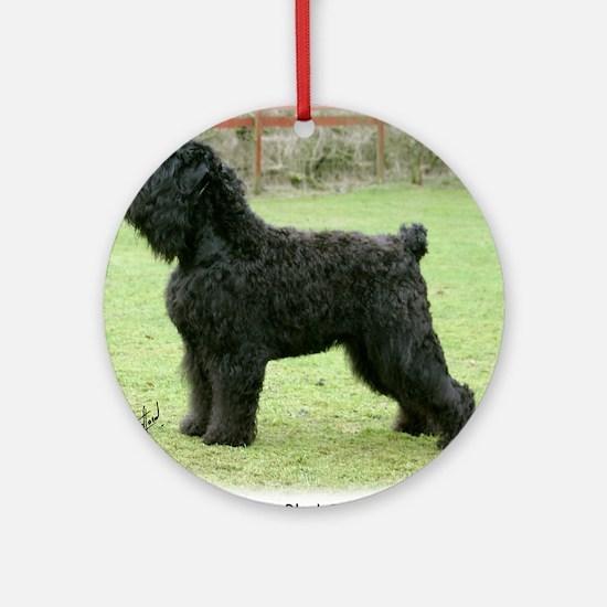 Russian Black Terrier Ornament (Round)