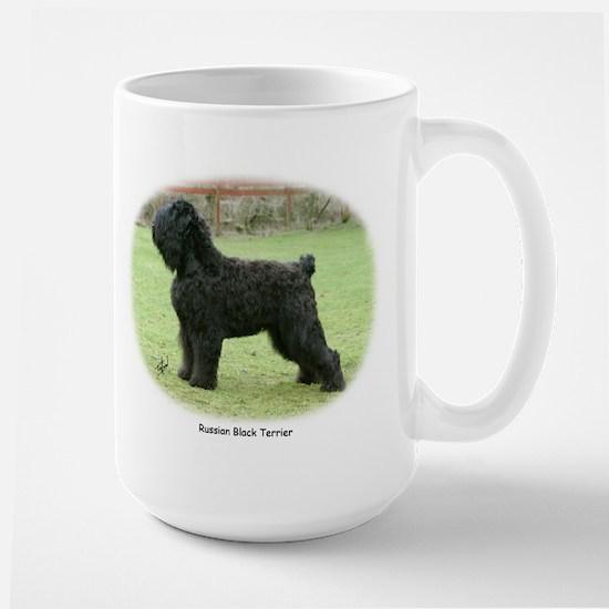 Russian Black Terrier Large Mug