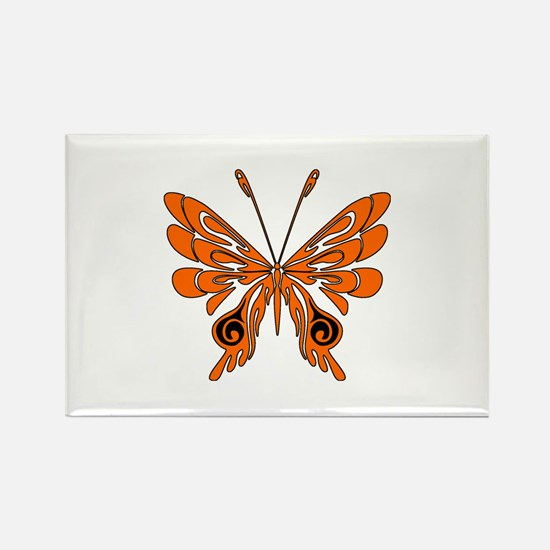 'Butterfly Tattoos Rectangle Magnet (100 pack)