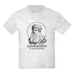 LEONARDO is My Homeboy- T-Shirt