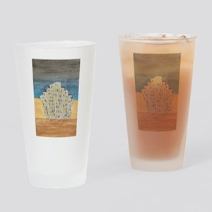 Fantasy city Drinking Glass