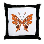 'Butterfly Tattoos Throw Pillow